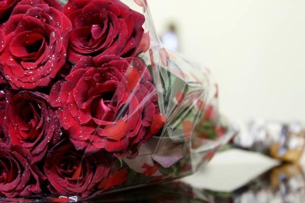 鲜花,宏,铝,玫瑰,花束