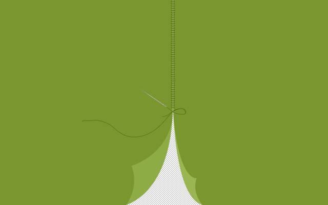 线程,针,接缝