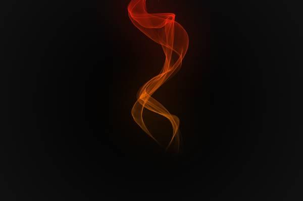 火焰,背景,热,空白,黑色