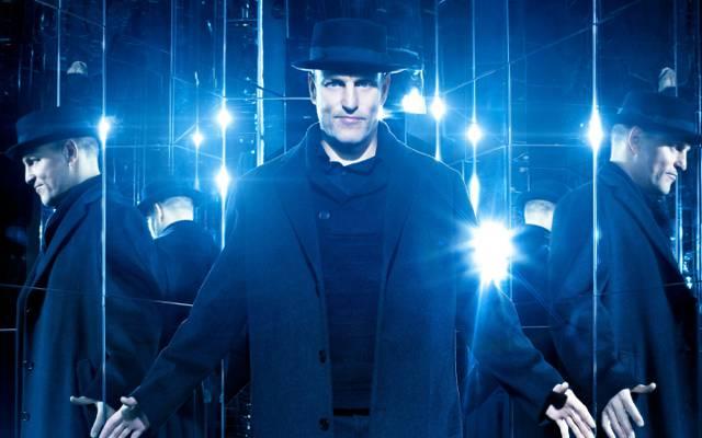 帽子,反射,外套,现在你看到我2,蓝色,伍迪哈里森,镜子,伍迪哈里森,...