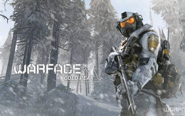 雪,设备,Warface,士兵,森林