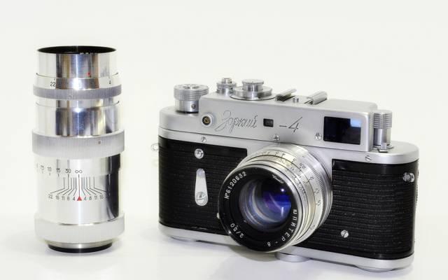 Zorki 4,相机,敏锐,相机