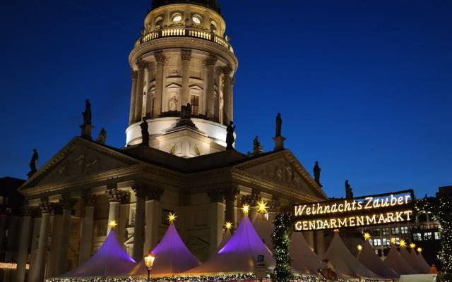博览会,德国大教堂,御林广场,德国,地区,圣诞节,柏林