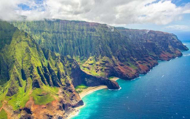 风景如画的夏威夷海岸