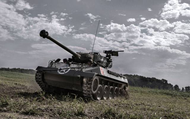 "Tank fighter, the sky, M18, field, ""witch"", Hellcat"