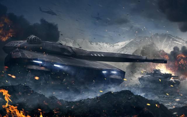装甲战,黑曜石娱乐,Armata项目,CryEngine,my.com,mail.ru,坦克,PL-01