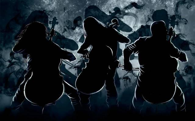 海绵宝宝,大提琴,伯特,艾卡,Apocalyptica,艺术