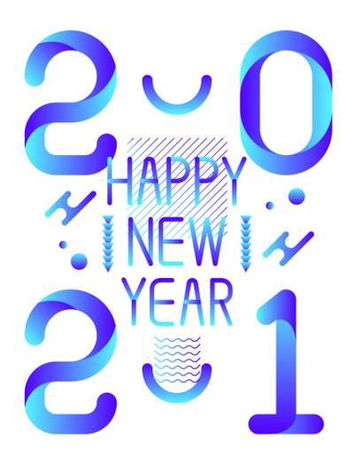 2021新年快乐创意图片