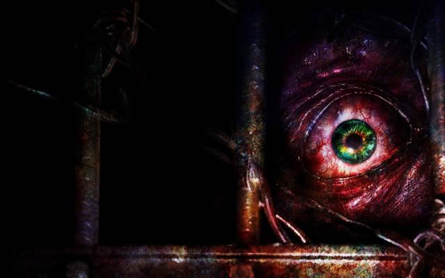 Capcom,维也纳,学生,看,生化危机启示2,眼睛