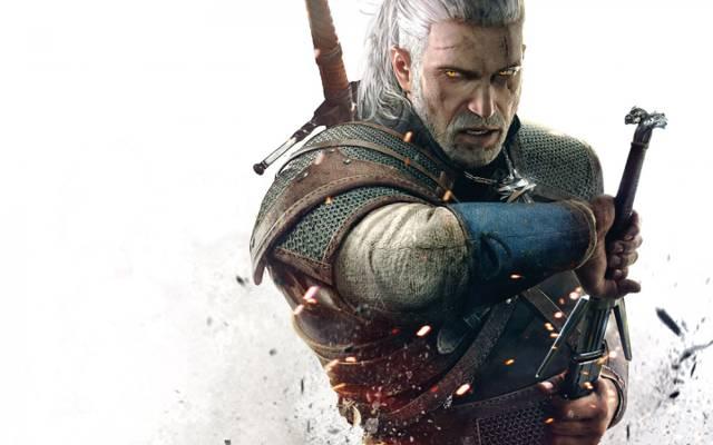 巫师3野狩猎,剑,Geralt,巫师3野狩猎,眼睛,大奖章