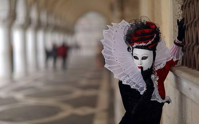 面具,背景,威尼斯狂欢节