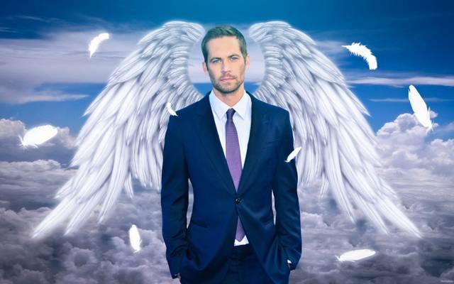 翅膀,回忆,保罗·沃克,天堂演员,保罗·沃克,致敬