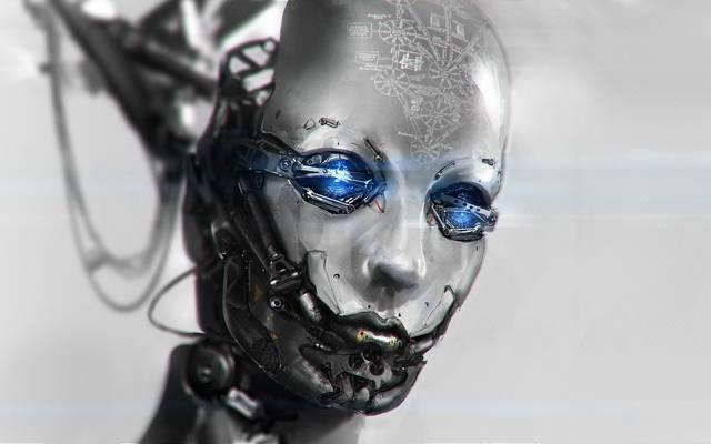 头,电线,Android,艺术,机器人,公式