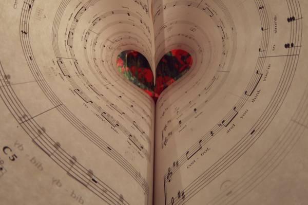笔记,音乐,心脏