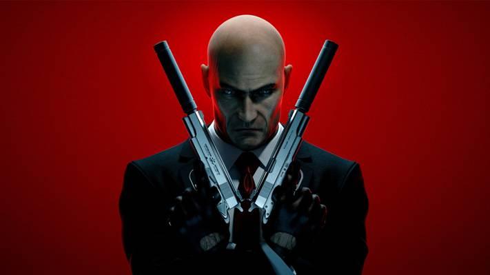 武器,领带,夹克,秃头,代理47,银色的芭蕾,杀手:赦免,第四十七,刺客,消声器,手套