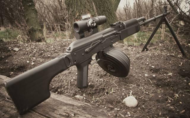 机枪,卡拉什尼科夫,手动,RPK-74,光学