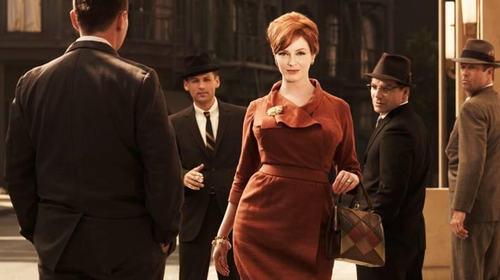 该系列,男人,狂人,街头,哈里斯,广告狂人,克里斯蒂娜·亨德里克斯,女人