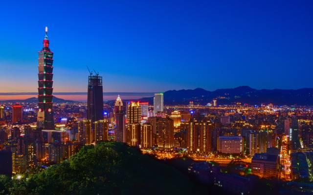 台北的唯美夜色