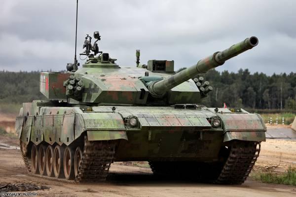 坦克冬季两项,坦克,中国,主要