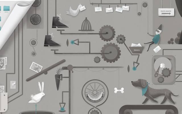 鞋,照片,狗,伎俩,电脑,兔子,杠杆,操作原则,齿轮,笑话,鸟,...  -