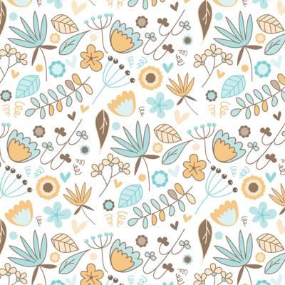 背景,纹理,模式,矢量,鲜花
