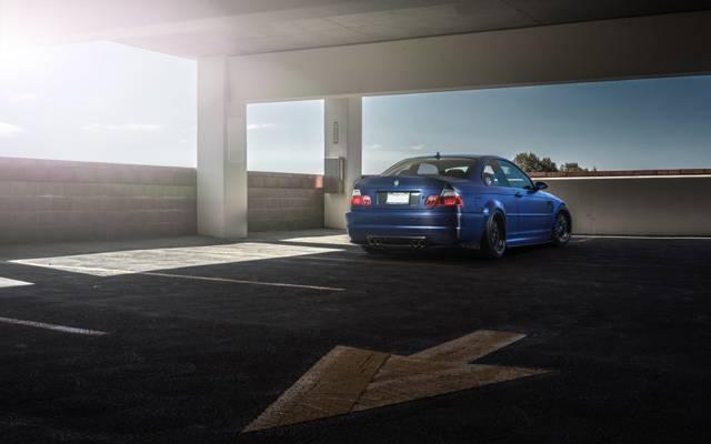 箭头,停车,蓝色,宝马,回,宝马,蓝色,e46