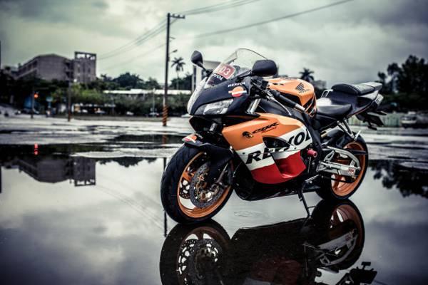 本田,摩托车,背景,设计