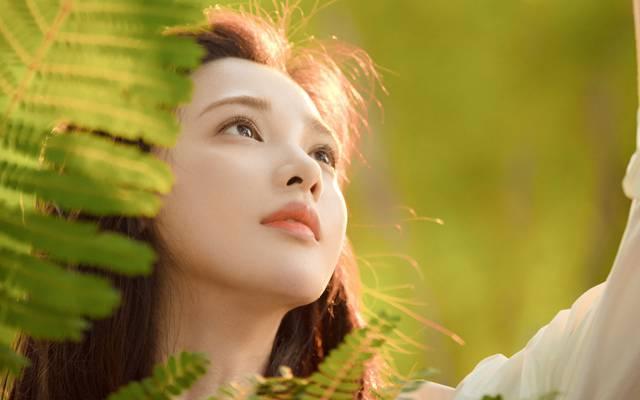 清纯森系美女彭小苒性感唯美个人写真
