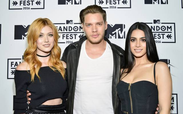 Emeraude Toubia,Dominic Sherwood,Dominic Sherwood,Shadowhunters,Shadowhunters,Katherine Mc