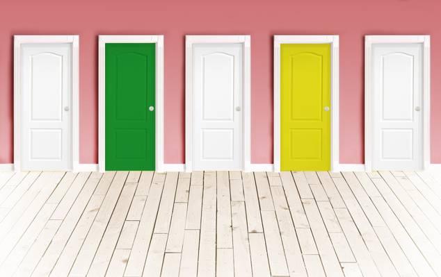 墙,地板,门,颜色