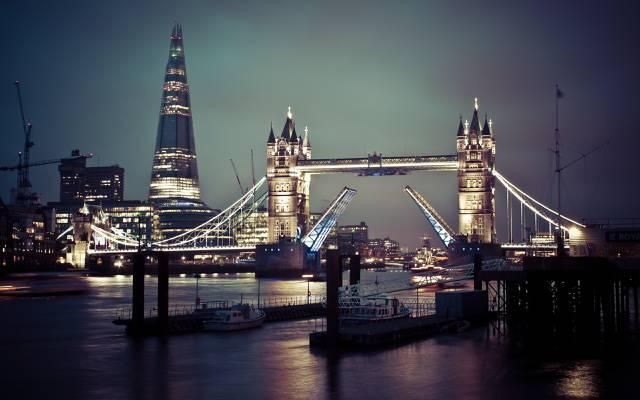 伦敦,大英国,塔桥,泰米尔语,英国,泰米尔语,塔桥,伦敦,泰晤士,英国,英国
