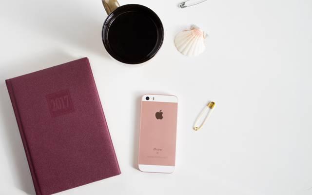 记事本,手机,2017年,iphone,外壳,咖啡,苹果,日记