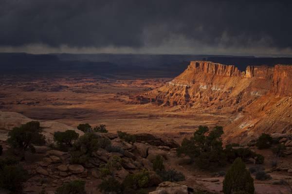 风景,岩石,峡谷,石头,犹他州,美国,岩石,石头