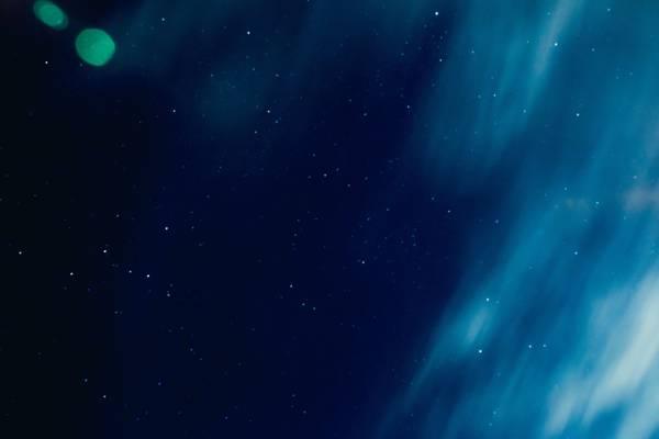 星星,天空,夜,云高清壁纸