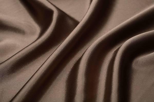 褶皱,丝绸,质地,织物,棕色