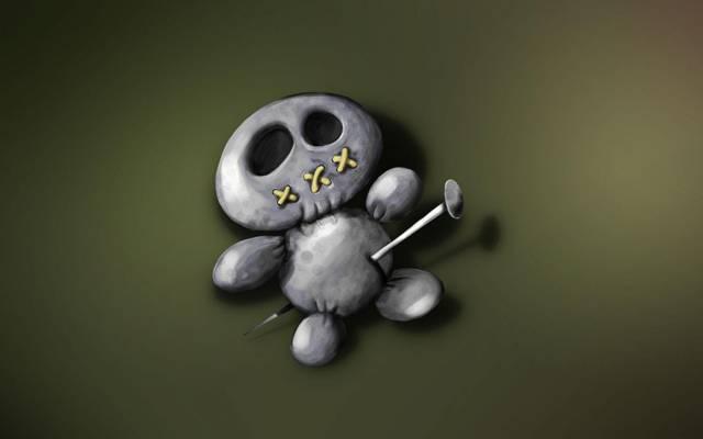 Pin,巫毒娃娃