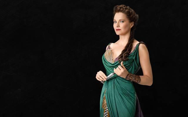 Lucy Lawless,刀,辫子,Lucretia,斯巴达克斯:血与沙,斯巴达克斯:血与沙,露西无法无天