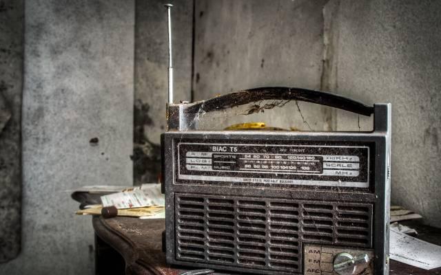 收音机,接收器,背景