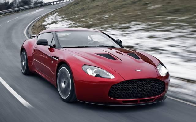 V12,雪,路,阿斯顿·马丁,阿斯顿·马丁,B12,Zagato,zagato,美丽的车,supercar.red,前