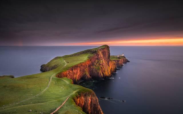 海,景观,海岸,岛屿