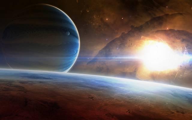 空间,宇宙,星球,艺术,明星,艺术,星云,明星,空间,星云