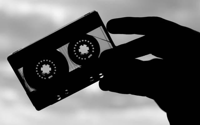 电影,音乐,卡带,录音带,复古