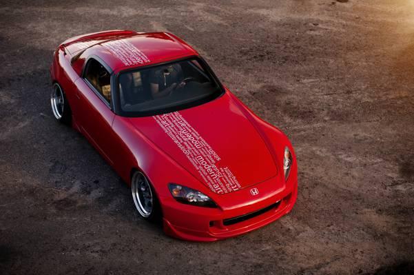 红色,本田,前面,S2000,S系列,红色,本田