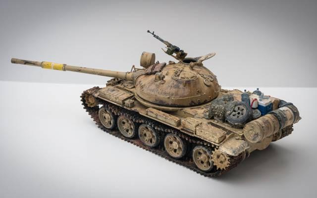 伊拉克T-62,模型,中型坦克,玩具