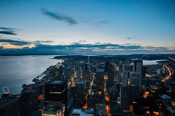美国,建筑,太空针塔,华盛顿,办事处,美国,西雅图,建筑,建筑物,结构,美国