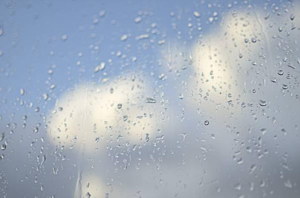 天空,玻璃,下降