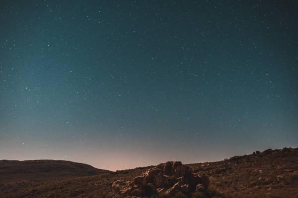 静谧的夜空