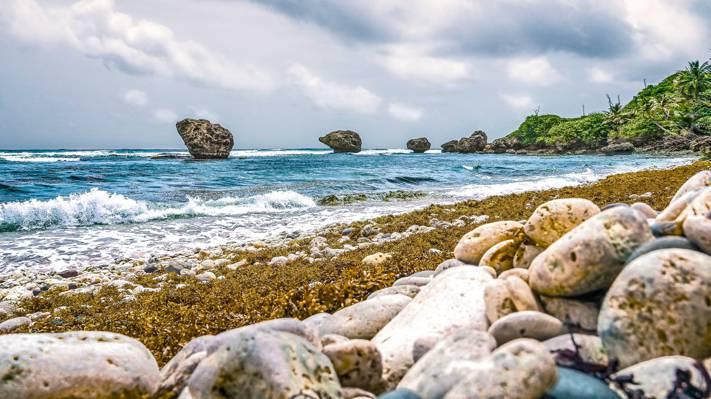 海滨风景摄影高清壁纸