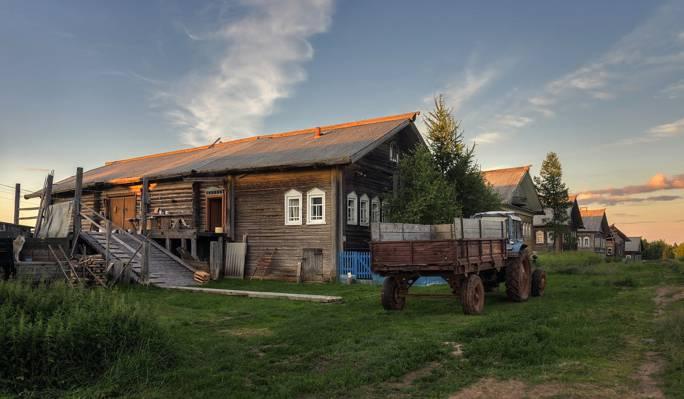 村庄,Cilca,阿尔汉格尔斯克州