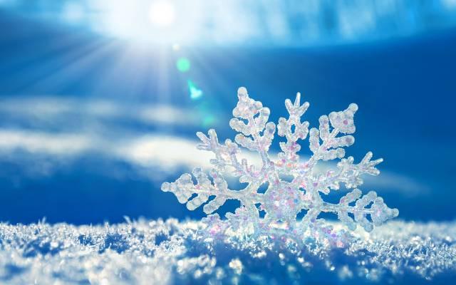壁纸雪花,雪,冬天